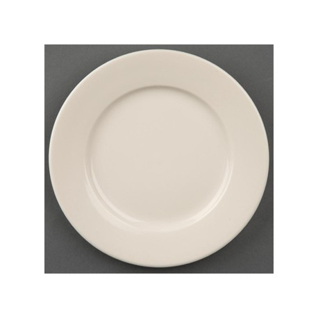 Olympia Ivory Wide Rimmed Plates 150mm