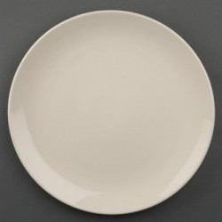 Olympia Ivory Round Coupe Plates 255mm