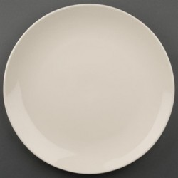 Olympia Ivory Round Coupe Plates 310mm