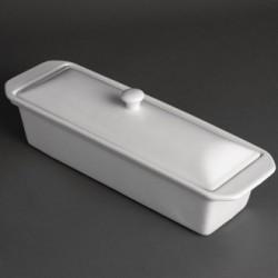 Olympia Whiteware Pate Terrine 110mm