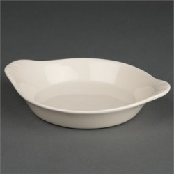 Olympia Ivory Round Eared Dishes 127mm