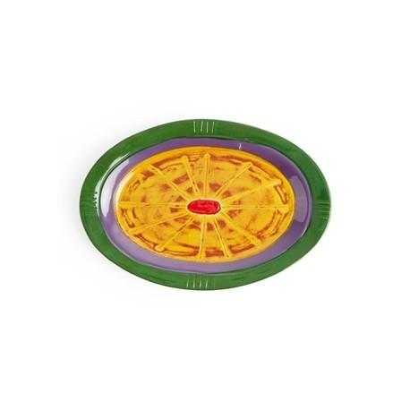 Steelite Hot Cha Cha Oval Melamine Platter 290mm