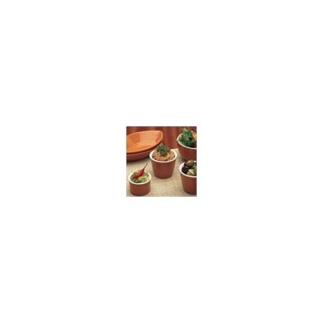 Churchill Terracotta Soup Bowls 130mm