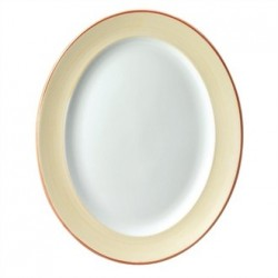 Churchill Sahara Oval Rimmed Plates 365mm