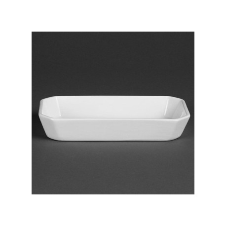 Olympia Whiteware Oblong Hors d'Oeuvre Dishes 213mm