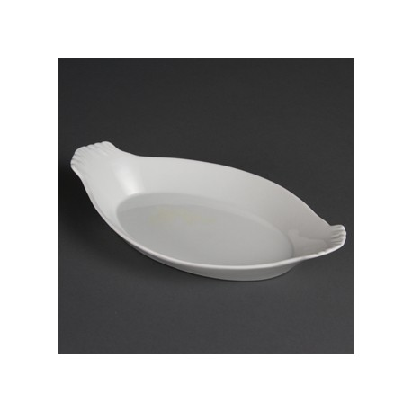 Olympia Whiteware Oval Eared Dishes 320x 177mm