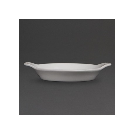 Olympia Whiteware Round Eared Dishes 167x 137mm
