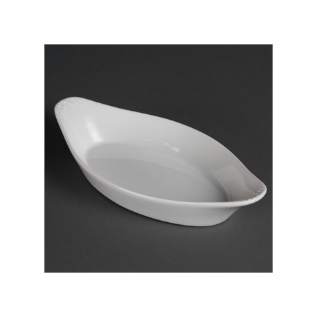 Olympia Whiteware Oval Eared Dishes 262mm
