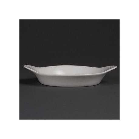 Olympia Whiteware Round Eared Dishes 192x 151mm