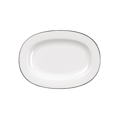 Churchill Alchemy Mono Oval Dishes 280mm