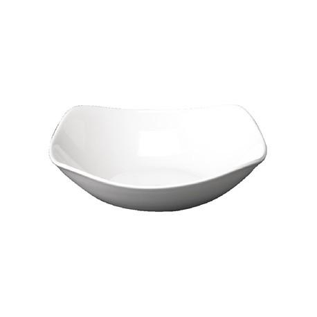 Churchill Plain Whiteware X Squared Bowls 235mm