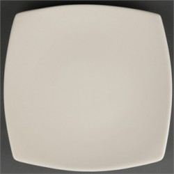 Olympia Ivory Round Square Plates 241mm