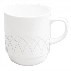 Churchill Alchemy Jardin Stacking Mugs 275ml