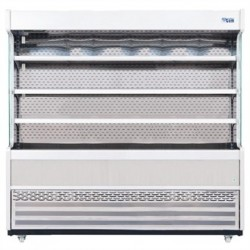 Williams Gem 1856mm Slimline Multideck Stainless Steel with Nightblind R180-SCN