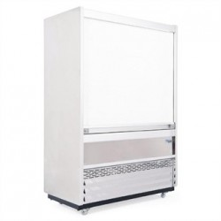 Williams Gem 960mm Slimline Multideck Stainless Steel with Security Shutter R100-SCS