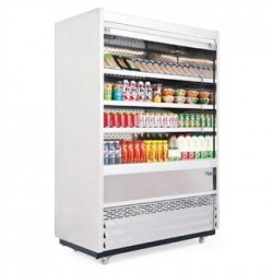 Williams Gem 1250mm Slimline Multideck Stainless Steel with Security Shutter R125-SCS