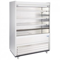 Williams Gem 1856mm Slimline Multideck Stainless Steel with Security Shutter R180-SCS