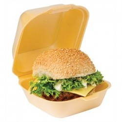 Standard Foam Clamshell Burger Boxes