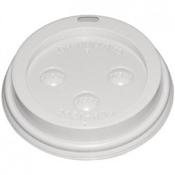 Fiesta Disposable Lid For 8oz Hot Cups x50