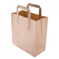 Recyclable Brown Paper Bags Small