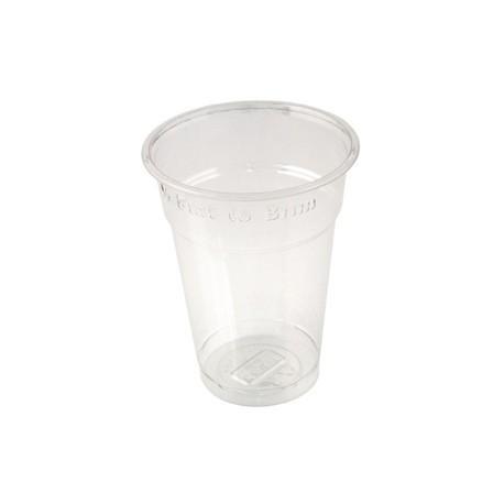 Huhtamaki Disposable Half Pint to Brim Tumbler