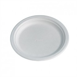 Disposable Round Plate White 200mm