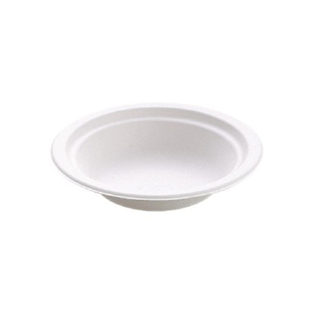 Disposable Round Bowl White 16oz