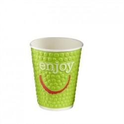 Huhtamaki Enjoy Double Wall Disposable Hot Cups 8/9oz