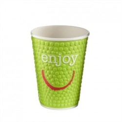 Huhtamaki Enjoy Double Wall Disposable Hot Cups 12oz