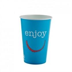 Huhtamaki Enjoy Paper Cold Cups 16oz