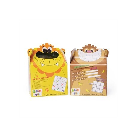 Crafti's Bizzi Boxes Assorted Zoo Lion and Monkey