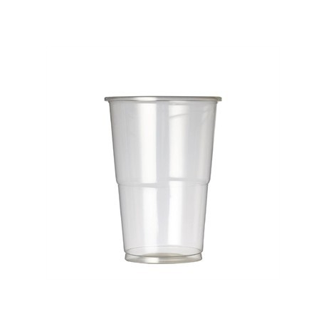 Plastico Premium Half Pint Glass CE Marked