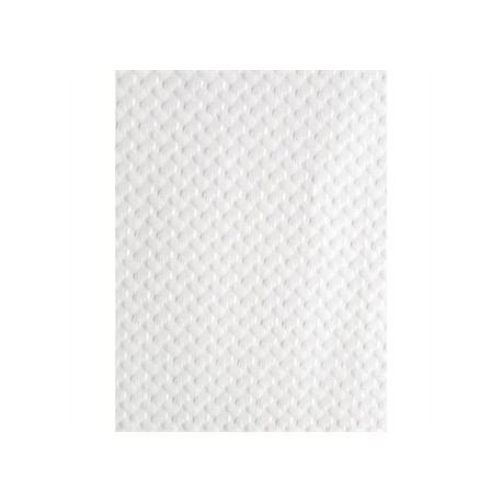 Paper Table Cover Glossy White