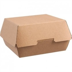 Disposable Kraft Burger Boxes Large