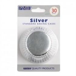 PME Cupcake Baking Cases Silver