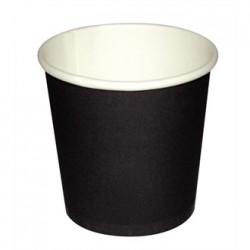 Fiesta Disposable Black Espresso Cups 4oz x1000