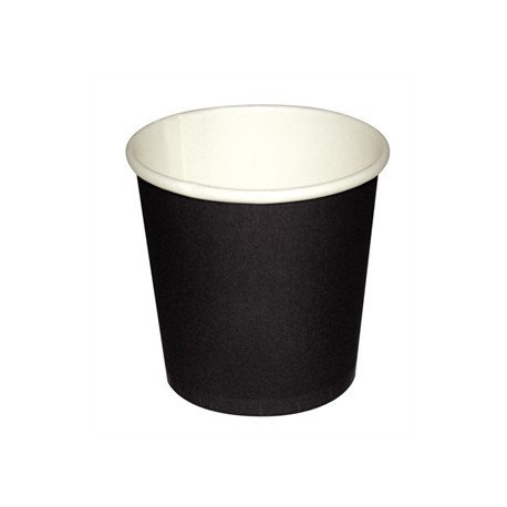 Fiesta Disposable Black Espresso Cups 4oz x1000