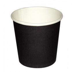 Fiesta Disposable Black Espresso Cups 4oz x50