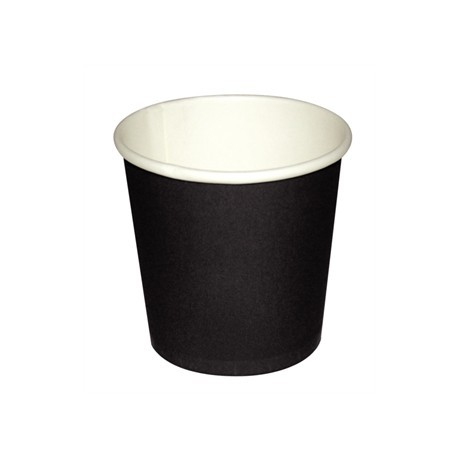 Fiesta Disposable Black Espresso Cups 4oz x50