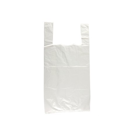 Large White Carrier Bags