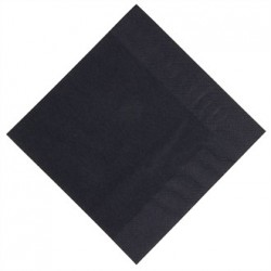 Duni Dinner Napkin Black 400mm