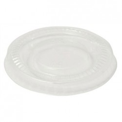 Vegware PLA lid for 2/4oz Pots