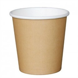 Fiesta Takeaway Espresso Cup Kraft 4oz x50