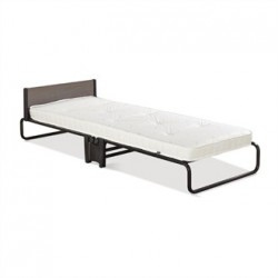 Jay-Be Contract Folding Bed with Pocket Sprung Mattress in Black Colour