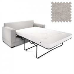 Jay-Be Contract Two Seater Sofa Bed Modern in Mink Colour