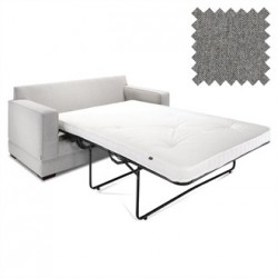 Jay-Be Contract Two Seater Sofa Bed Modern in Slate Colour