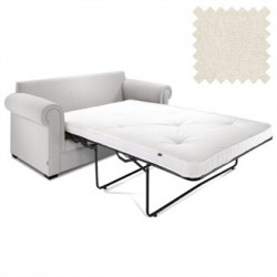 Jay-Be Contract Two Seater Sofa Bed Classic in Cream Colour