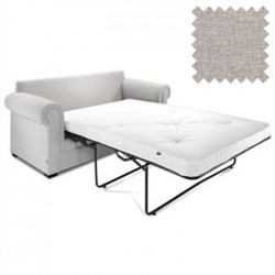 Jay-Be Contract Two Seater Sofa Bed Classic in Mink Colour