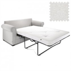Jay-Be Contract Two Seater Sofa Bed Classic in Stone Colour