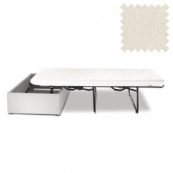 Jay-Be Contract Footstool Bed in Cream Colour